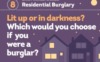 Neighbourhood Policing Team Winter Burglary Prevention Campaign