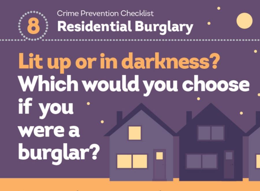 Neighbourhood Policing Team Winter Burglary Prevention Campaign