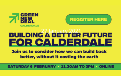 Green New Deal Event