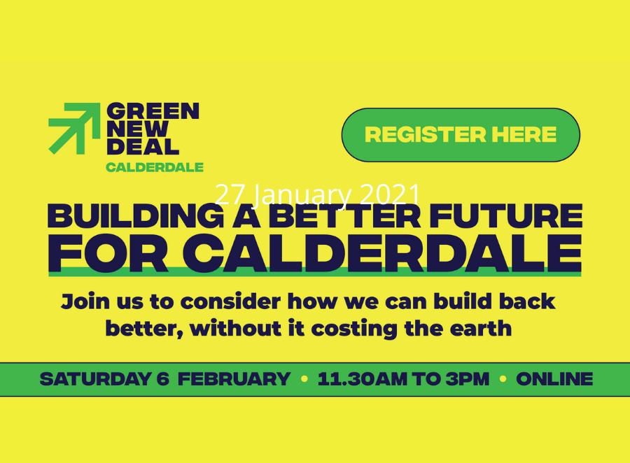 Green New Deal Event