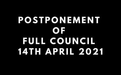 Full Council Postponed